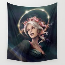 Eos, The Dawn Star Wall Tapestry