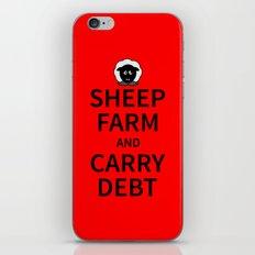 Sheep Keep Calm iPhone & iPod Skin
