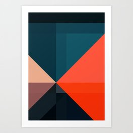 Geometric 1713 Art Print