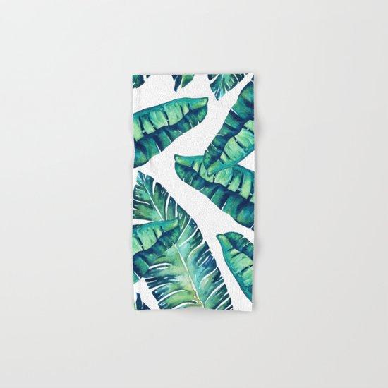 Tropical Glam #society6 #decor #buyart Hand & Bath Towel