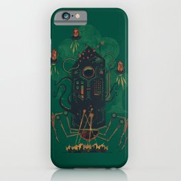 Not with a whimper but with a bang iPhone Case
