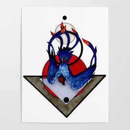 Sulfur Phoenix Poster