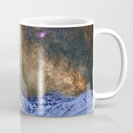 Never stop exploring mountains, space..... Coffee Mug