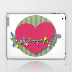 Christmas heart Laptop & iPad Skin