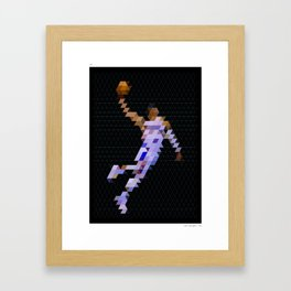 PIXEL ART RWB Framed Art Print