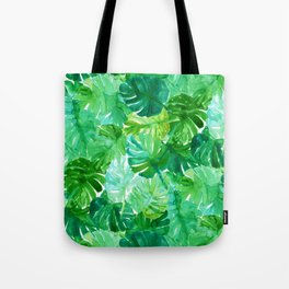 Welcome to the Jungle Palm Tote Bag