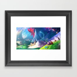 moogle Framed Art Print