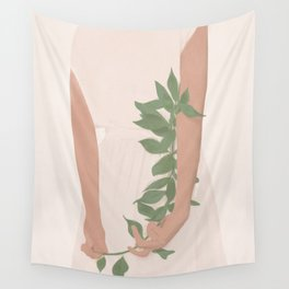 Holding on to a Branch Wall Tapestry