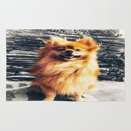 SMILE Pomeranian Rug