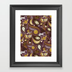 Potter Paisley Framed Art Print