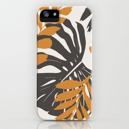 Abstract Monstera 3 iPhone Case