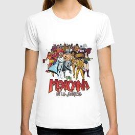 Liga de la justicia mexicana T-shirt