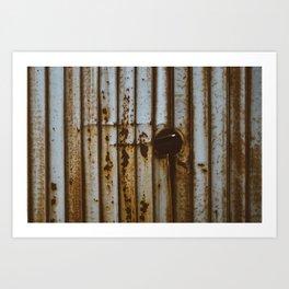 Rustic Wall? Something like that.. Art Print
