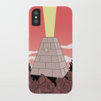 pyramid iPhone & iPod Cases featuring Pyramid by Mike Force
