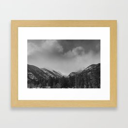 Rocky Mountains National Park Framed Art Print