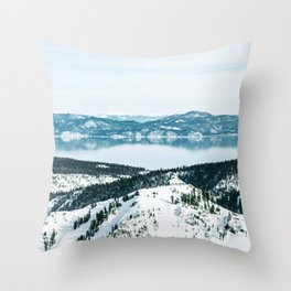 Squaw Throw Pillow