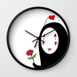 Kaonashi : Be My Valentine Wall Clock