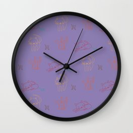 Cat and Mouse Sing the Blues Wall Clock