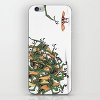 gizmo iPhone & iPod Skins featuring GIZMO CACA by olivier silven