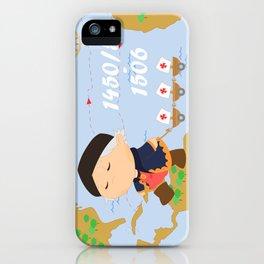 Columbus (Cristóbal Colón) iPhone Case