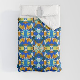 Kaleido Stained Glass Duvet Cover