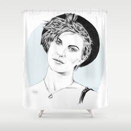 Hayley Williams Shower Curtain
