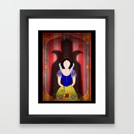 Shadow Collection, Series 1 - Apple Framed Art Print