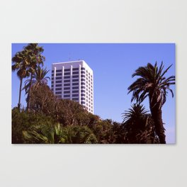 Santa Monica Afternoon Canvas Print
