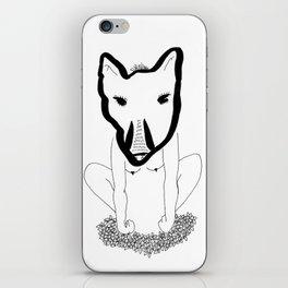 Wild woman iPhone Skin
