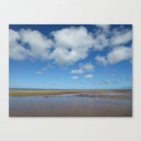cape cod Canvas Prints featuring Cape Cod by Marina Grebenshikova