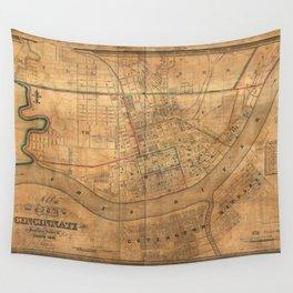 Cincinnati 1838 Wall Tapestry
