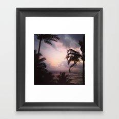 Sri Lanka sunset Framed Art Print
