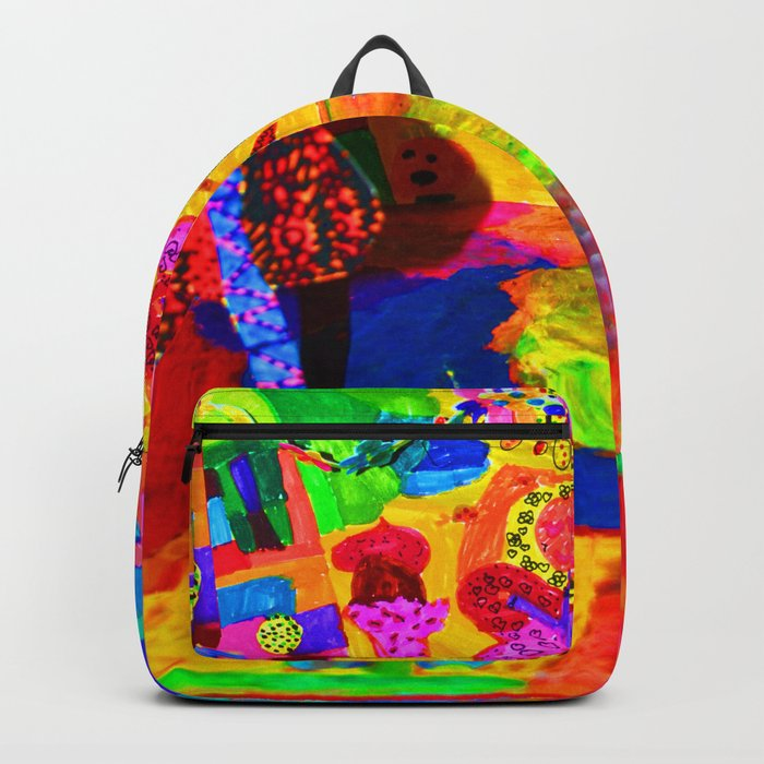 Colorful Feast | Kids Painting Backpack