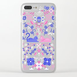 Kitten Lovers Clear iPhone Case