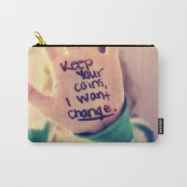 Wallpaper Quote Carry-All Pouch