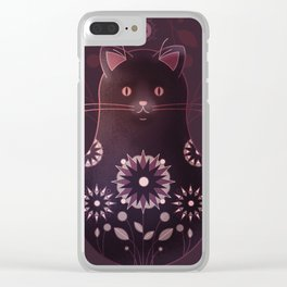 Catryoshka Clear iPhone Case