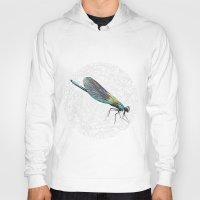 dragonfly Hoodies featuring Dragonfly by Matt McVeigh