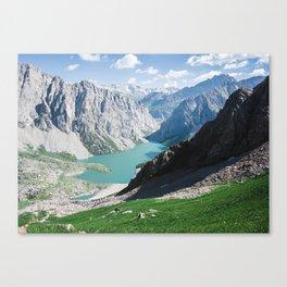 The Holy Lake Canvas Print