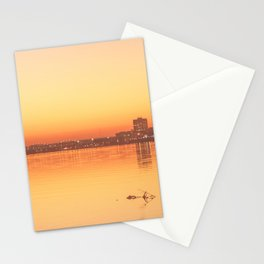 Orange Davenport Stationery Cards