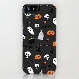 Halloween Pattern iPhone Case