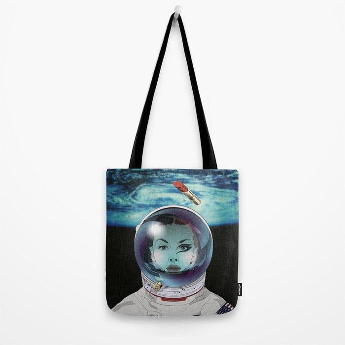 Miss Space Pilot Tote Bag