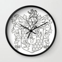 Swormanship Coat of Arms Wall Clock