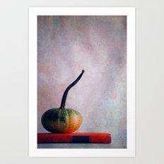 Mr. Pumpkin Art Print