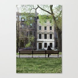 Nature + Architecture = Beauty. Canvas Print
