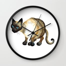 I am Siamese Wall Clock