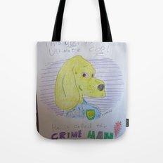 Bootleg Series: Crime Man Tote Bag