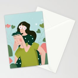 14 February - Couple in Love Stationery Cards