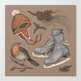 Winter Collection Canvas Print