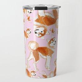 Akita Inu Travel Mug