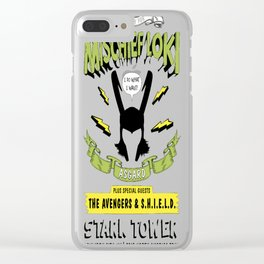 Mischief God Clear iPhone Case